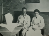 Skötare med familj