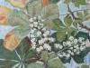 Oljemålning, inramad av patienten Olga N.