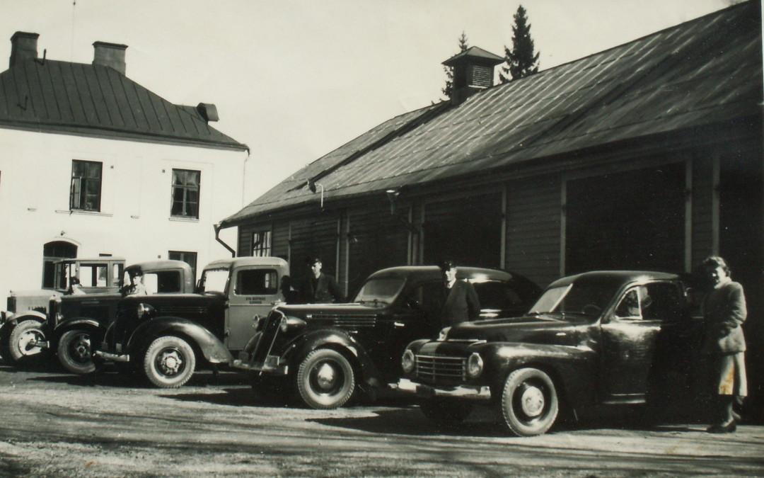 Bilens Dag 28 oktober och en berättelse om sjukhusets bilar under 2:a världskriget